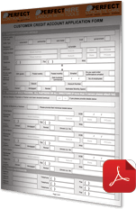 Credit Application Form — Perfect Contracting