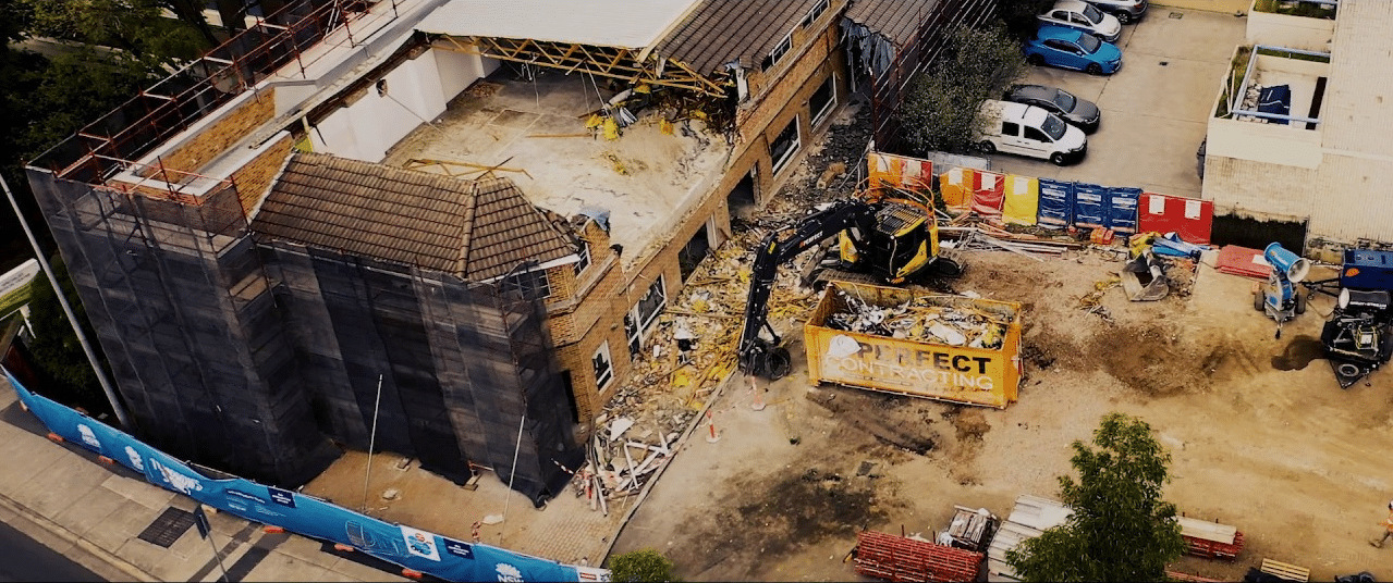 Demolition Sydney Video
