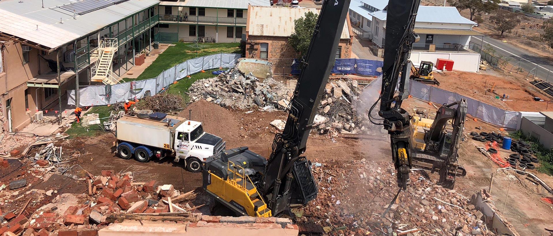 demolition broken hill rural nsw