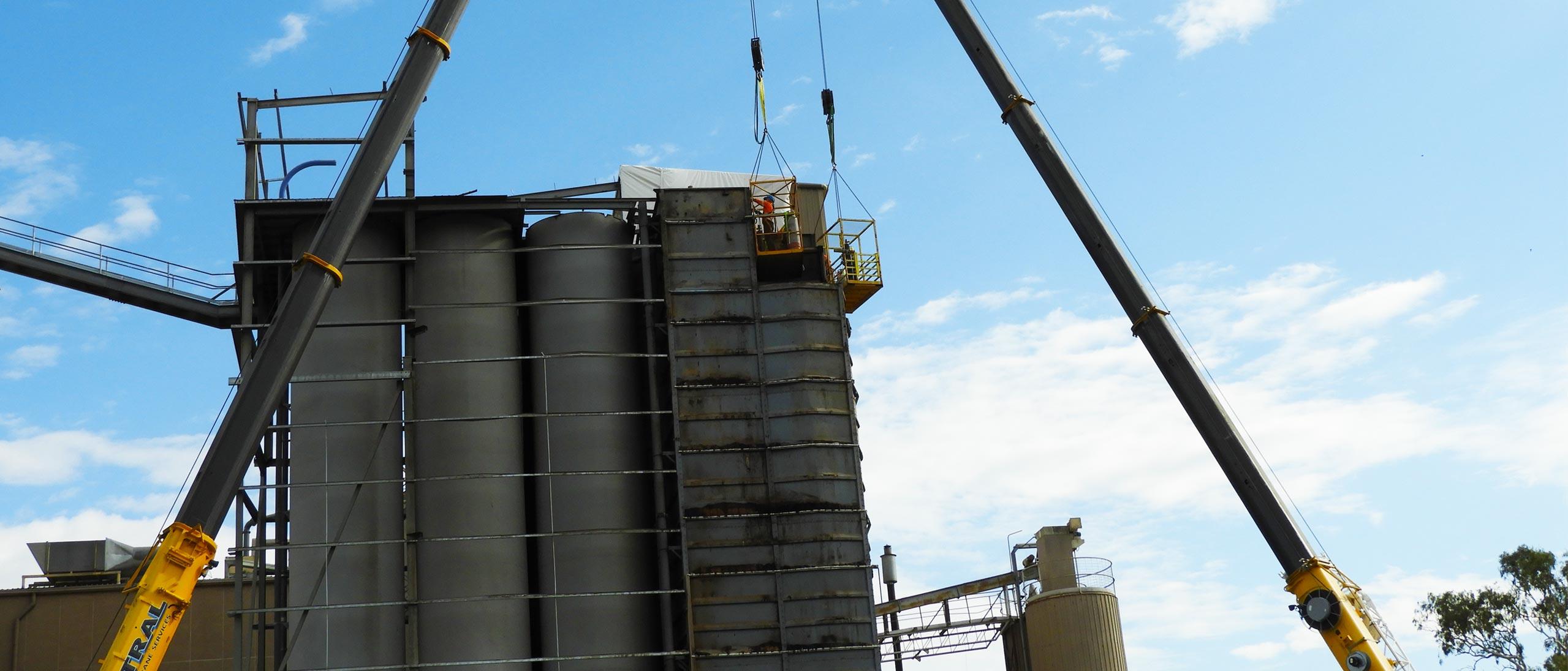 Demolition - Manildra Flour Mill, Orange