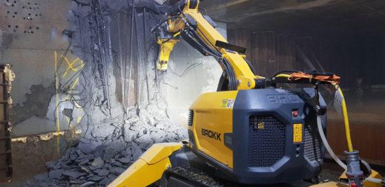 Brokk demolition robot