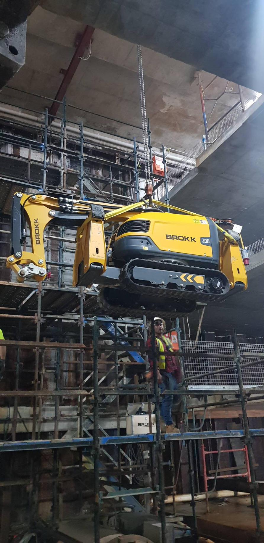 brokk 200 demolition robot sydney