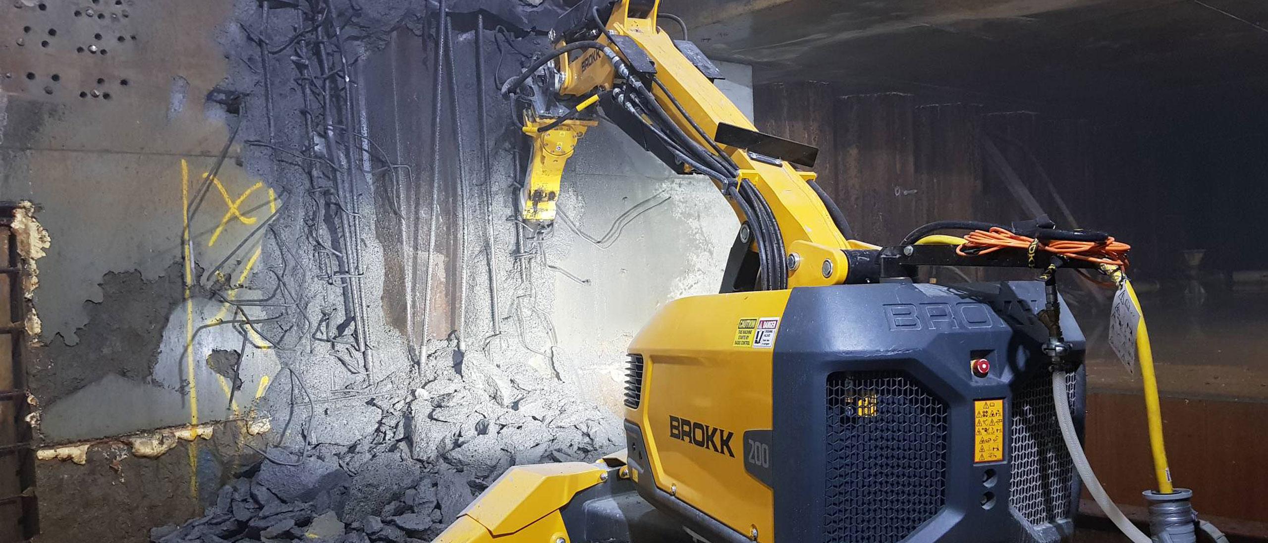 Brokk 200 Demolition Robot – Manly