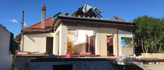 Half House Demolition – Cremorne
