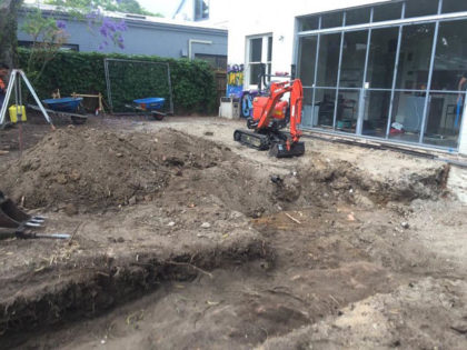 Tight Access Excavation in Hunters Hill