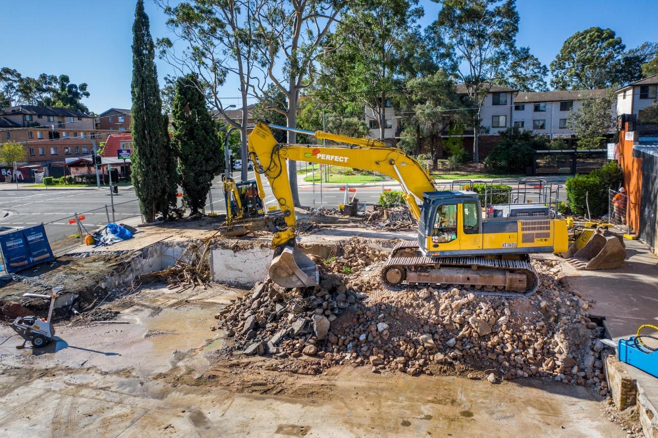 519 Church St, Parramatta, Full building demolition