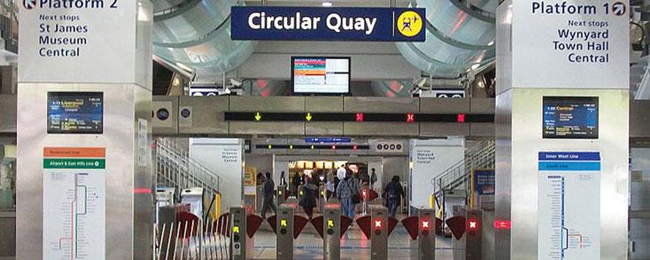 Detailed demolition Circular Quay Train Station