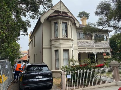 Demolition heritage restoration in Bondi