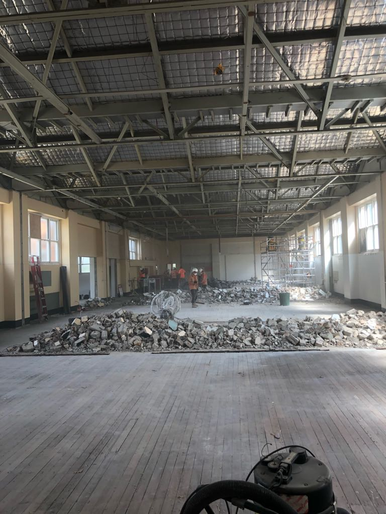 Strip out and demolition - TAFE Meadowbank