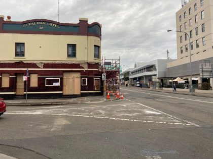 The Royal Oak Hotel - Parramatta Light Rail Project