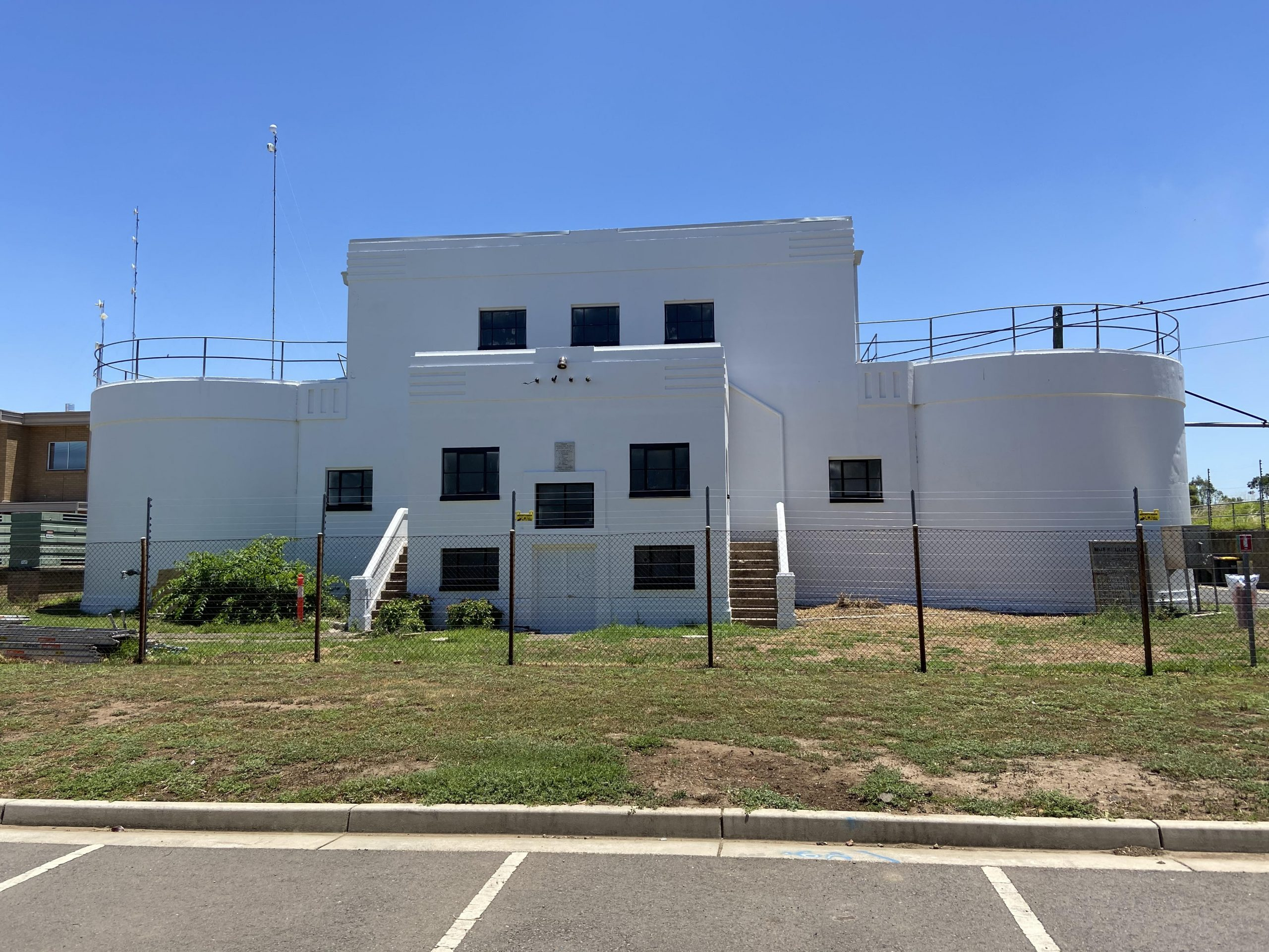 Demolition and remediation works at Water Treatment Plant - Muswellbrook