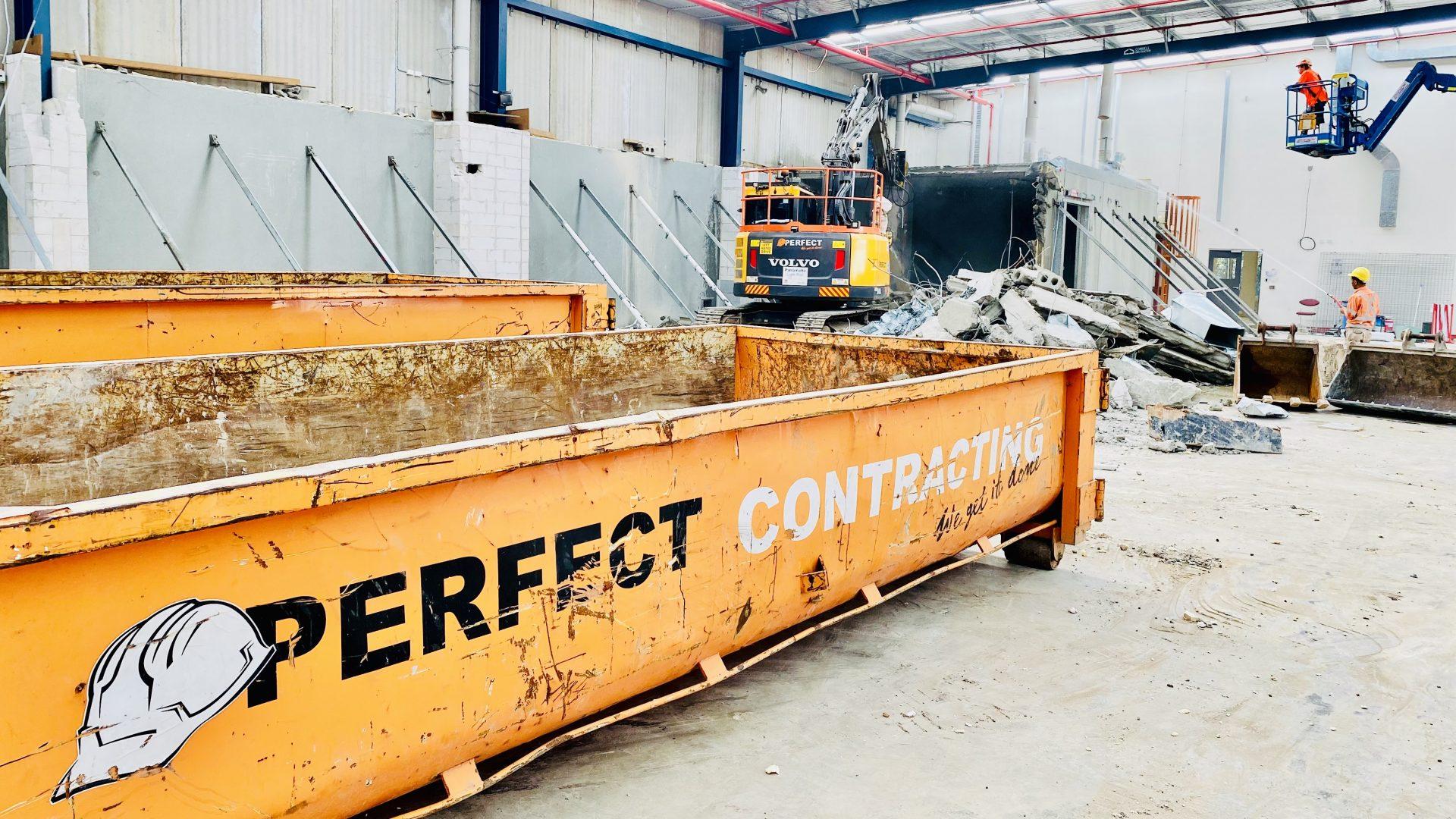 Bunker Demolition - Perfect Hire