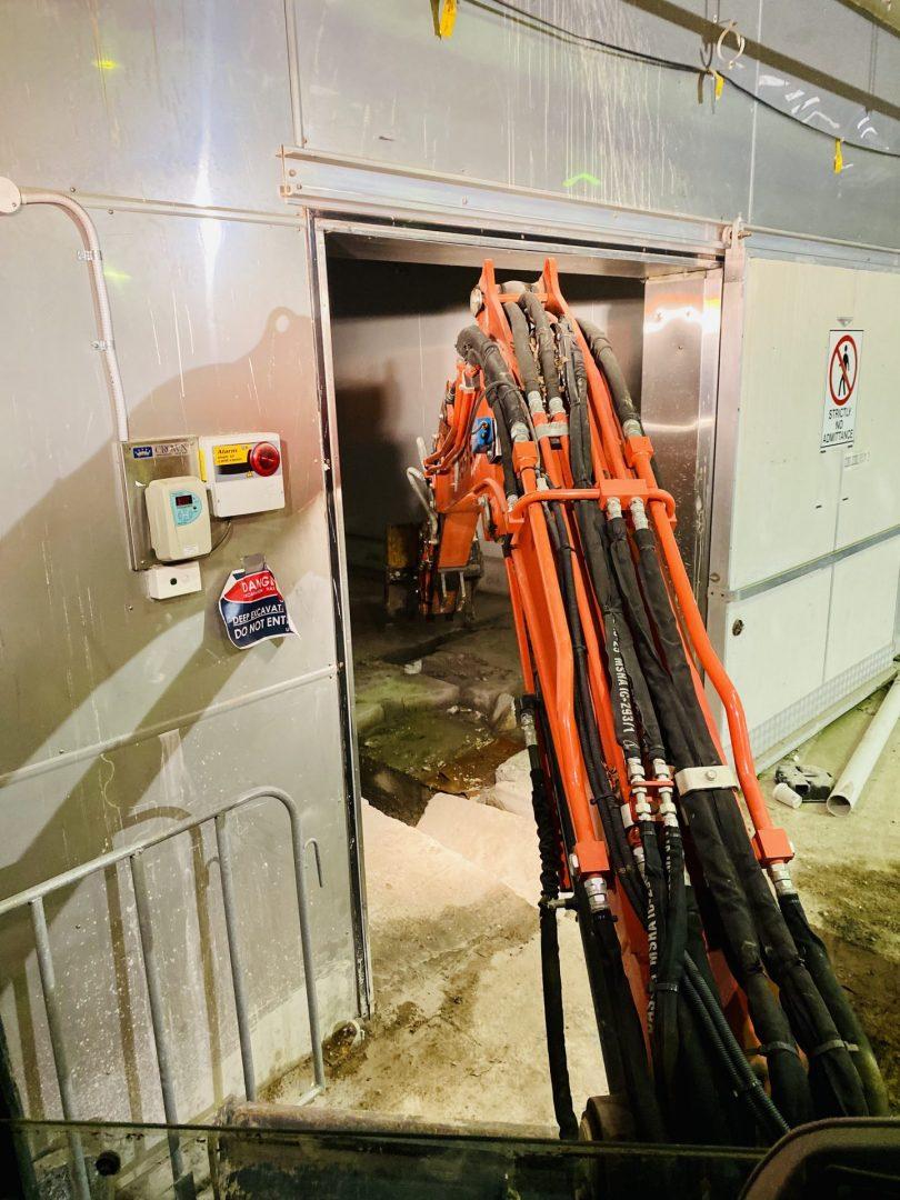 Footing Excavation – Hawke's Brewery