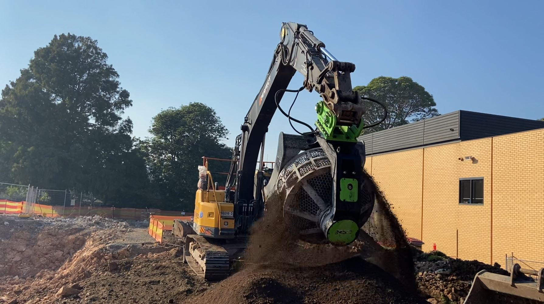 Perfect Contracting - St. Joseph's College in Hunter's Hill - civil work and demo