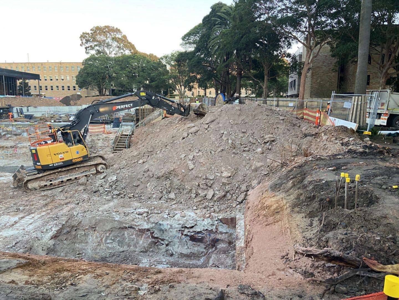 Demolition - St. Joseph's College in Hunter's Hill