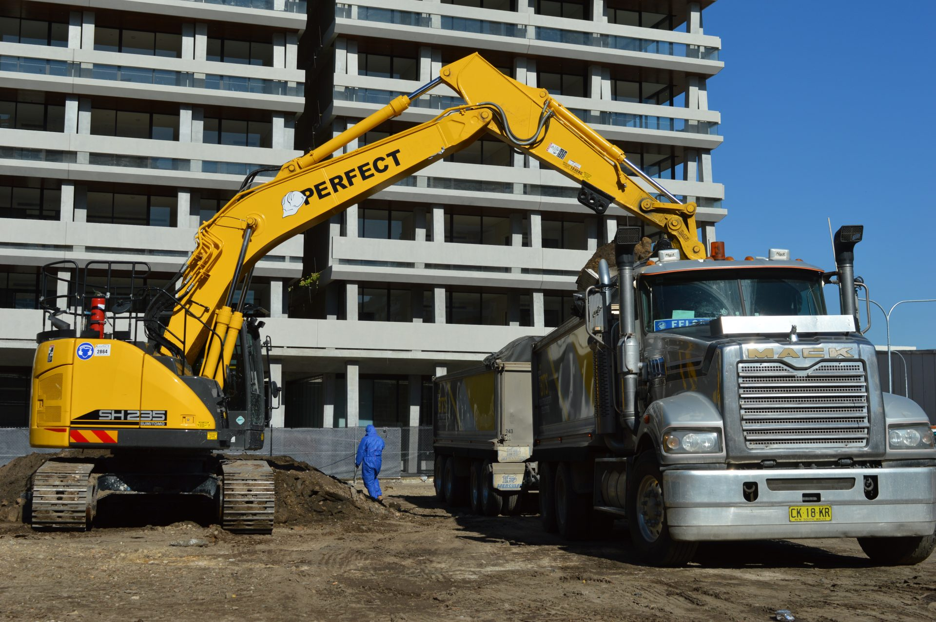 Contaminated Soil Remediation - Perfect Contracting